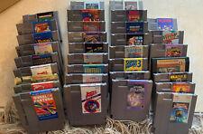 Nintendo NES Game lot 33 Games