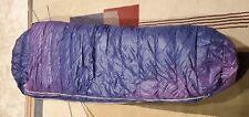VTG Snowline purple down winter mummy/sleeping bag