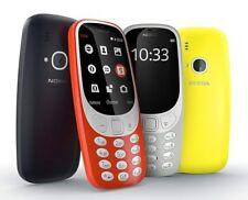 """New Nokia 3310 (2017) (16MB) Unlocked 2.4"""" 2.0 MP rear camera SHIP DHL"""