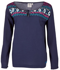 Top Chiemsee Tunika Ilonka Shirt Blouse Tunic Top Navy Large New Sealed + Tags
