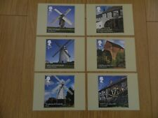 2017  WINDMILLS & WATERMILLS  SET OF  6  X  PHQ CARDS (No430)  IN MINT CONDITION