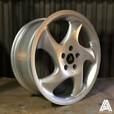 "4 x Autostar Twist 18"" 5x112 alloys fit VW Transporter T4 Caddy 770kg load rated"