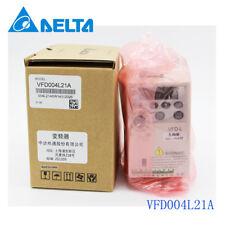 100% NEW DELTA VFD004L21A 0.4KW 220V in box