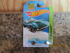 2014 HOT WHEELS WORKSHOP '69 CORVETTE BLUE K-MART EXCLUSIVE   214/250   (B3)