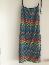 Missoni cover up size Small or Medium multi color