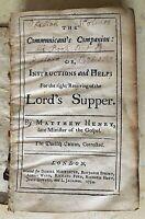 EVANGELICAL BOOK OWNED by HOLMDEL N.J. NAMESAKE OBADIAH HOLMES 1710-76 (c1734)