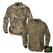 NEW BANDED FEATHERLITE COTTON BUTTON UP LONG SLEEVE CAMO HUNTING SHIRT B1030009
