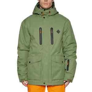 Rip Curl mens Palmer Anti-Series Snow Jacket size Medium Brand new in Khaki