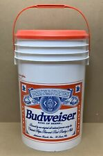 Vintage Rare Budweiser Beer Bucket 6 Gallon Cooler In Great Condition.!