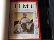 MAGAZINE TIME  BOUND VOLUME  JAN TO MARCH 1931   Mohandas    Gandhi