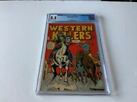 WESTERN KILLERS NN CGC 5.5 RANGE BUSTERS PRE CODE FOX FEATURES COMICS 1948