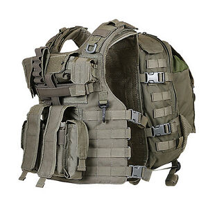 Marom Dolphin Adjustable Semi Modular Tactical Vest (One Size) - TV8029