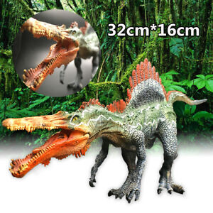 12.6'' Large Spinosaurus Jurassic Dinosaur Model Toy Figure Model Kids   !