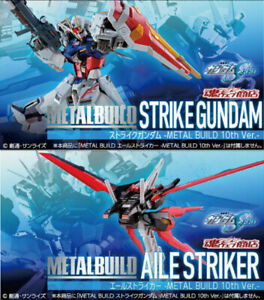 METAL BUILD Strike Gundam METAL BUILD 10th Ver. & Aile Striker 10th Ver. SET PRE