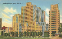 Postcard Medical Center Jersey City New Jersey Posted 1958