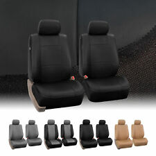 PU Leather Bucket Seat / Full Set  Covers for Seats with Headrests