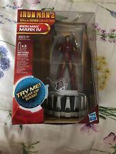 Hasbro Marvel Iron man 2 Mark IV Hall of Armor Collection Light-Up Figure