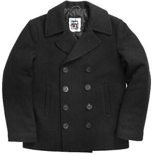 United Sates Navy G.I. Women's Overcoat Peacoat  Midnight Blue Size 18 S