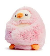 """5 """"pink Peekaboo Pinguin weiches Spielzeug mit Rassel - Aurora rosa W 13cm"""