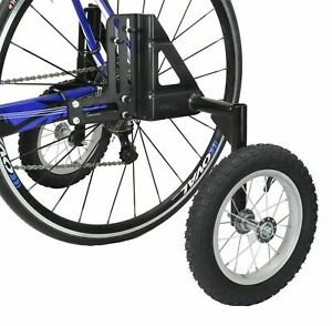 """CyclingDeal Adjustable Adult Bicycle Bike Training Wheels Fits 24"""" to 29"""""""