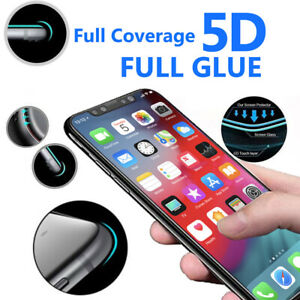 5D Curve Edge Full Coverage 9H Tempered Glass For Apple iPhone 11 PRO - 1 Pack