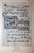 Manoscritti British Museum - Reproductions Illuminated Manuscripts 1907 tavole