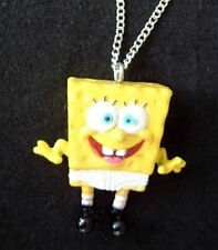 Funky Rare SPONGEBOB UNDERPANTS NECKLACE Funny Character Toy Mini Figure Jewelry