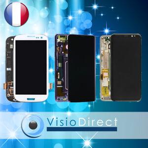 Ecran pour Samsung Galaxy S6/S7 Edge S8/Plus S9/Plus Vitre + LCD sur chassis