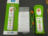 Nintendo Official OEM Yoshi Wii U Motion Plus Remote Controller Boxed Tested