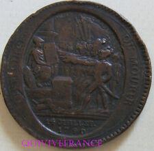 MED11010 - MEDAILLE DE CONFIANCE 5 SOLS 14 UILLET 1792