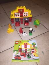 LEGO DUPLO MY FIRST FIRE STATION SET# 6138 COMPLETE WITH MANUAL