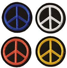 Patche écusson brodé Peace and Love Hippie 60's thermocollant patch Paix