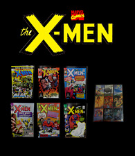 Marvel Classic The X-MEN Issue No: 96, 243, 05, 13, 04, 18 Comics Set with Cards
