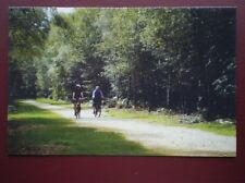 POSTCARD BUCKINGHAMSHIRE WEXHAM CYCLING THRO BLACK PARK