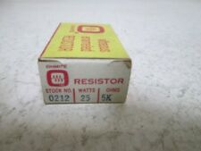 OHMITE 0212 RESISTOR 25 WATTS * NEW IN BOX *