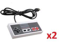 2x USB Retro Classic Nintendo NES Controller Jopypads for Win PC/MAC Gamepad