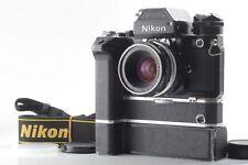 Vintage【EXC++++】Nikon F2 Photomic Black Camera w/50mm Lens MD2 MB1 AS-1 from JPN