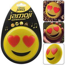 Jamoji Protable Speaker Smily Bluetooth Wireless USB Rechargeable Battery Stereo