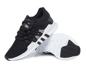 Adidas Women Originals EQT Racing Training Shoes Black Sneakers Boot Shoe BY9795