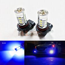 2x Blue H10 9145 15w High Power Bright LED Bulbs 5730 15-SMD Fog light/Driving