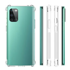 For OnePlus 8T / 8T+ Plus 5G Case Clear Shockproof Flexible TPU Protective Cover