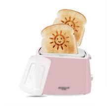 Pink Sun Pattern  Kitchen Double Slide Toaster Sandwich Maker 20*12*16CM .