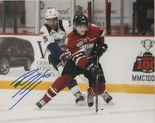 Guelph Storm Ryan Merkley Autographed Signed 8x10 Photo COA
