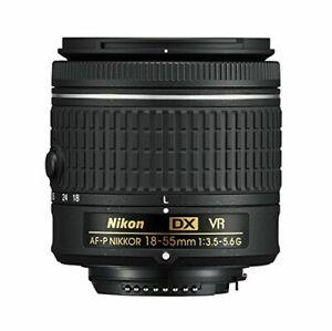 Nikon 18-55mm f/3.5-5.6G VR AF-P DX NIKKOR Zoom Lens - New AFP Stepping VR Motor