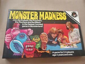Retro Fastest Funniest  Monster Madness  Family Board Game Berwick