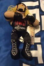 HULK HOGAN Doll World Championship Wrestling WCW Beanbag Brawler NWO RARE 1999