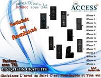 BATTERIE 100% NEUVE POUR IPHONE 4/4S/5/5C/5S/SE/6/6+/6S/6S+/7/8/8+ PLUS