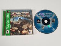 Star Wars: Episode I: Jedi Power Battles (Sony PlayStation 1 PS1) Complete