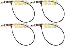 Qty 4 Usa Built 12 Long 12 Cable 3 Link Choker Cables Cable Logging Skidder