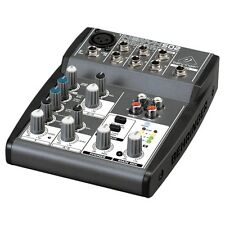 Behringer Xenyx 502 Premium 5 Input 2 Bus Stereo Mixer Mixing Desk